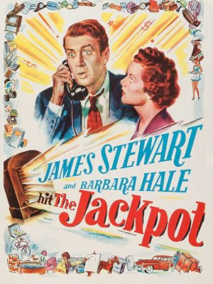 James Stewart and Barbara Hale in The Jackpot (1950)