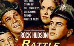Rock Hudson, Dan Duryea, Philip Ahn, Don DeFore, Martha Hyer, Anna Kashfi, Jock Mahoney, and Jung' Kyoo Pyo in Battle Hymn (1957)