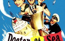Brigitte Bardot, Dirk Bogarde, Brenda de Banzie, and James Robertson Justice in Doctor at Sea (1955)