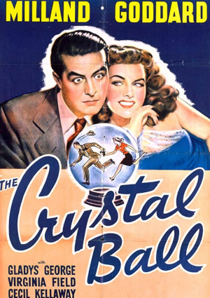 Ray Milland and Paulette Goddard in The Crystal Ball (1943)
