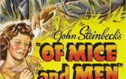 Lon Chaney Jr., Betty Field, and Burgess Meredith in Of Mice and Men (1939)
