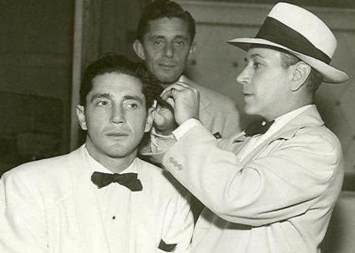 Joe Gray, Mack Gray, and George Raft in Christmas Eve (1947)