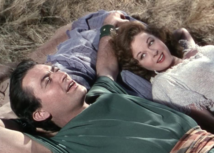 Gregory Peck and Susan Hayward in David and Bathsheba (1951)