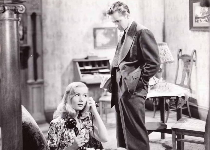 William Holden and Veronica Lake in I Wanted Wings (1941)