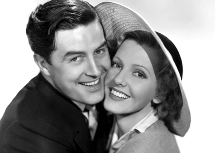 Jean Arthur and Ray Milland in Easy Living (1937)