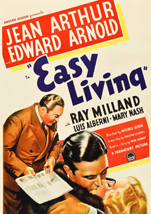 Jean Arthur, Ray Milland, and Edward Arnold in Easy Living (1937)