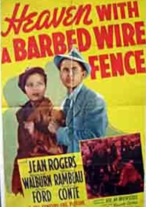 Glenn Ford and Jean Rogers in Heaven with a Barbed Wire Fence (1939)