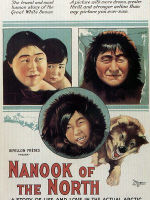 Allee, Cunayou, Alice Nevalinga, and Allakariallak in Nanook of the North (1922)