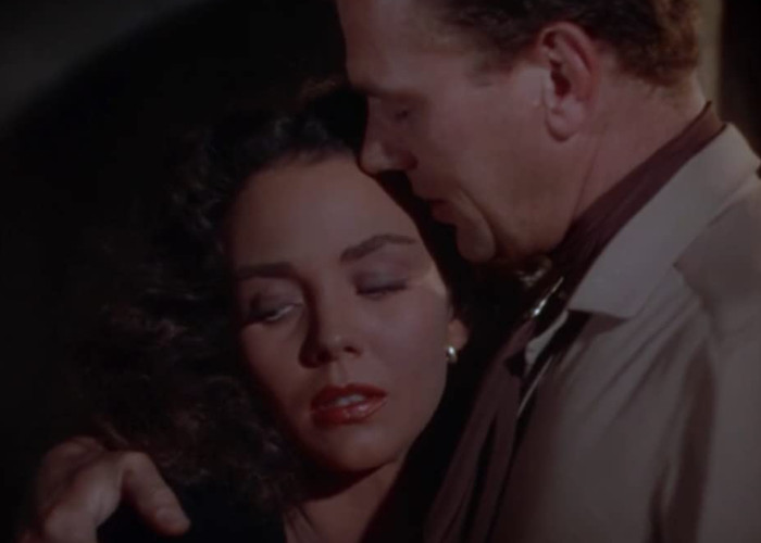Joseph Cotten and Jennifer Jones in Duel in the Sun (1946)