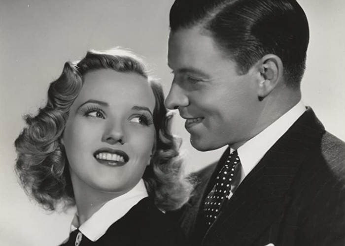Phyllis Brooks and George Murphy in Little Miss Broadway (1938)