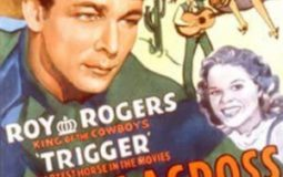 Roy Rogers, Ruth Terry, and Trigger in Hands Across the Border (1944)