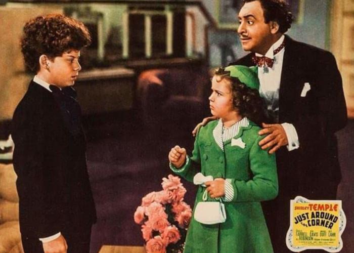 Shirley Temple, Eddie Conrad, and Leonard Kibrick in Just Around the Corner (1938)