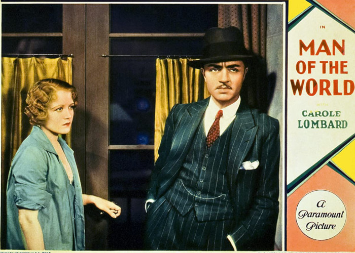 Carole Lombard and William Powell in Man of the World (1931)