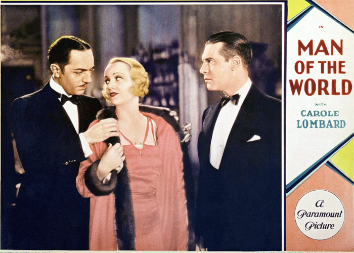 Carole Lombard, William Powell, and Lawrence Gray in Man of the World (1931)