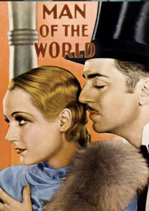Carole Lombard, William Powell, and Wynne Gibson in Man of the World (1931)