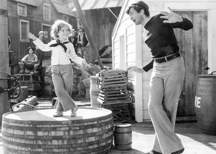 Shirley Temple, Buddy Ebsen, and Si Jenks in Captain January (1936)