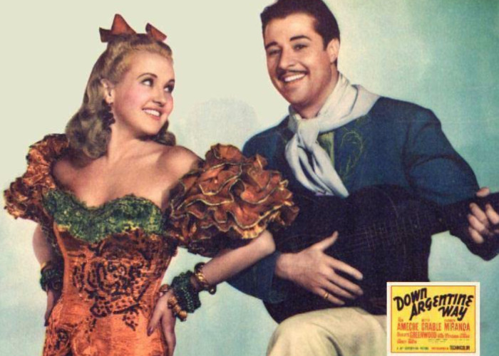 Don Ameche and Betty Grable in Down Argentine Way (1940)