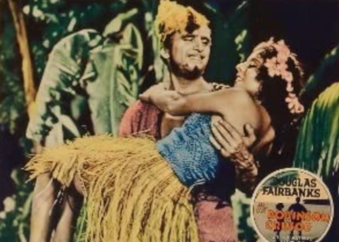 Douglas Fairbanks and Maria Alba in Mr. Robinson Crusoe (1932)