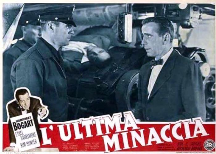 Humphrey Bogart in Deadline - U.S.A. (1952)