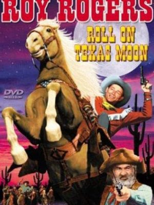 Roy Rogers, George 'Gabby' Hayes, and Trigger in Roll on Texas Moon (1946)
