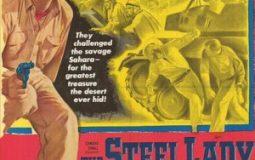 Tab Hunter, Rod Cameron, Carmen D'Antonio, and Richard Erdman in The Steel Lady (1953)