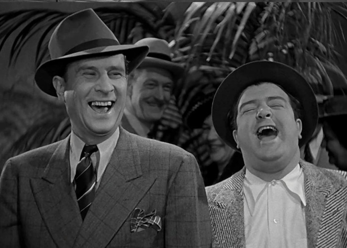 Bud Abbott and Lou Costello in Buck Privates (1941)