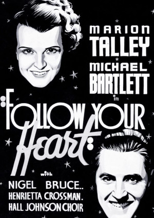 Michael Bartlett and Marion Talley in Follow Your Heart (1936)