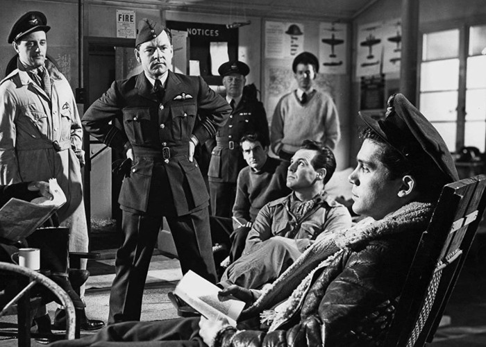 Kenneth More and Lee Patterson in Reach for the Sky (1956)