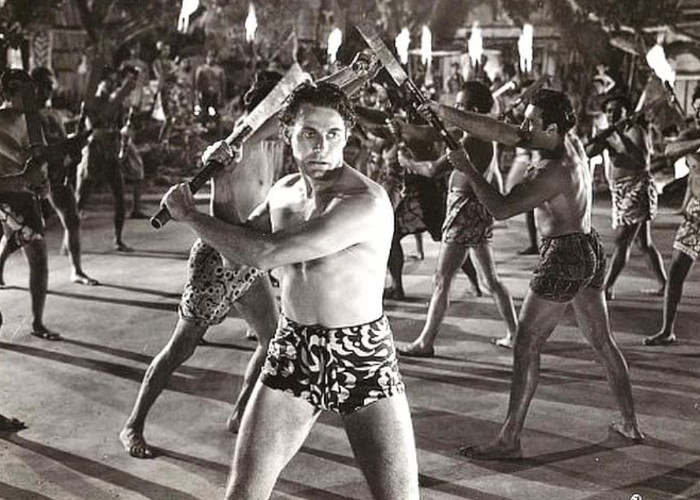 Jon Hall in South of Pago Pago (1940)