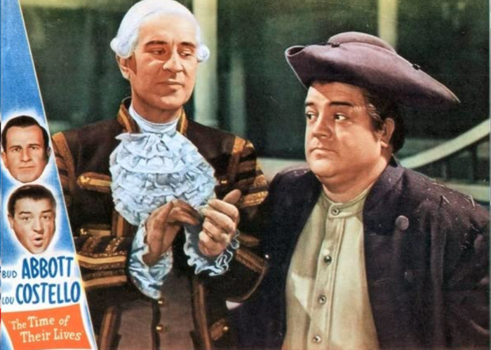 Bud Abbott and Lou Costello in The Time of Their Lives (1946)