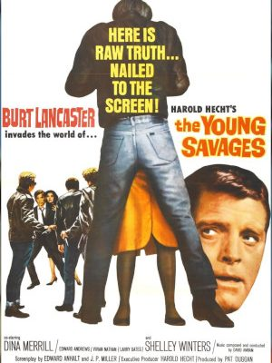 Burt Lancaster in The Young Savages (1961)